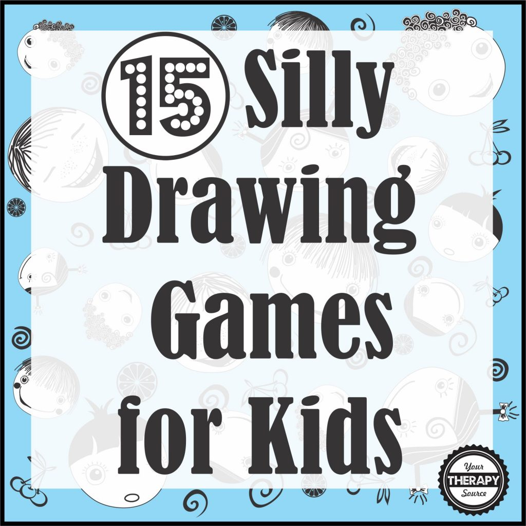 Here are some super simple and silly drawing games for kids and adults to play. All you need is a pencil and paper. Download a few free printables too!
