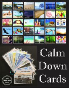 Calm Down Card Cover 1