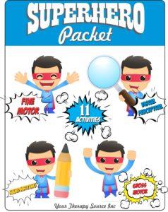 Superhero Packet