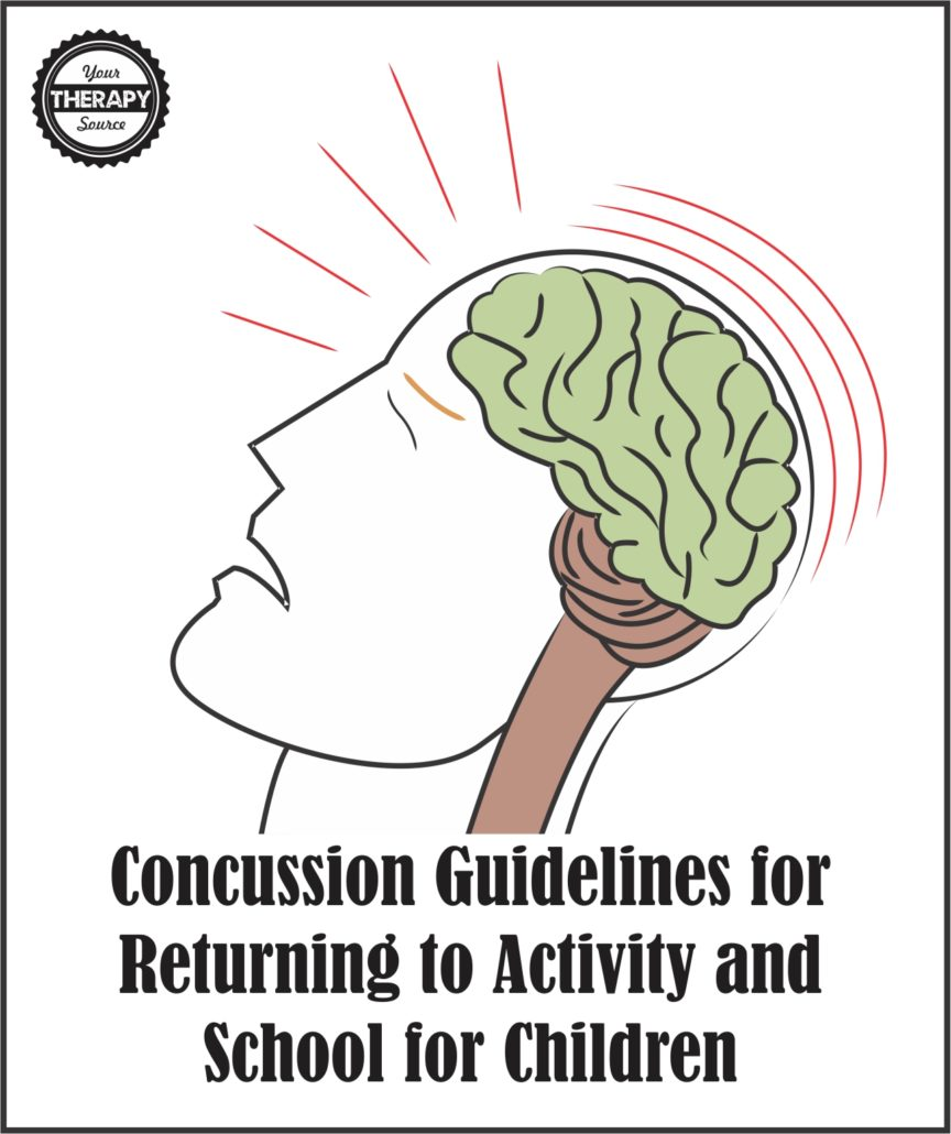 Concussion Guidelines for Returning to Activity for Children