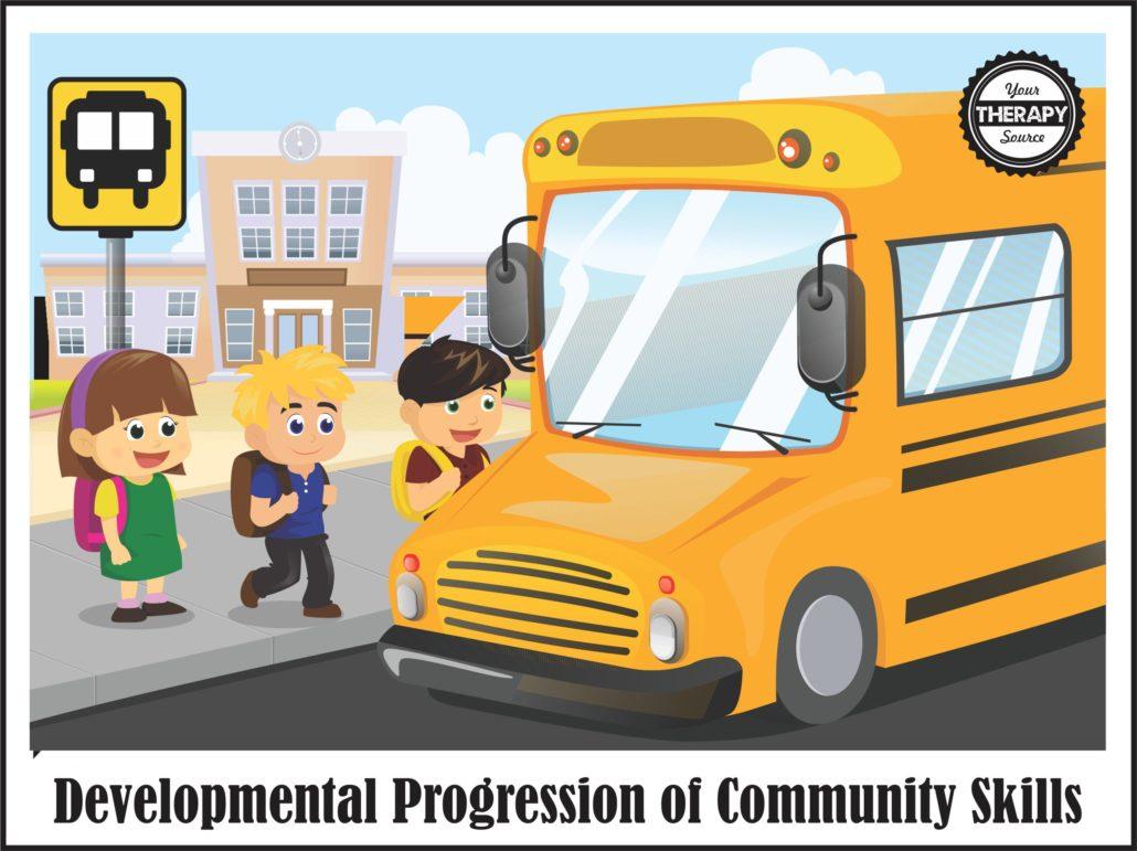 Developmental Progression of Community Skills