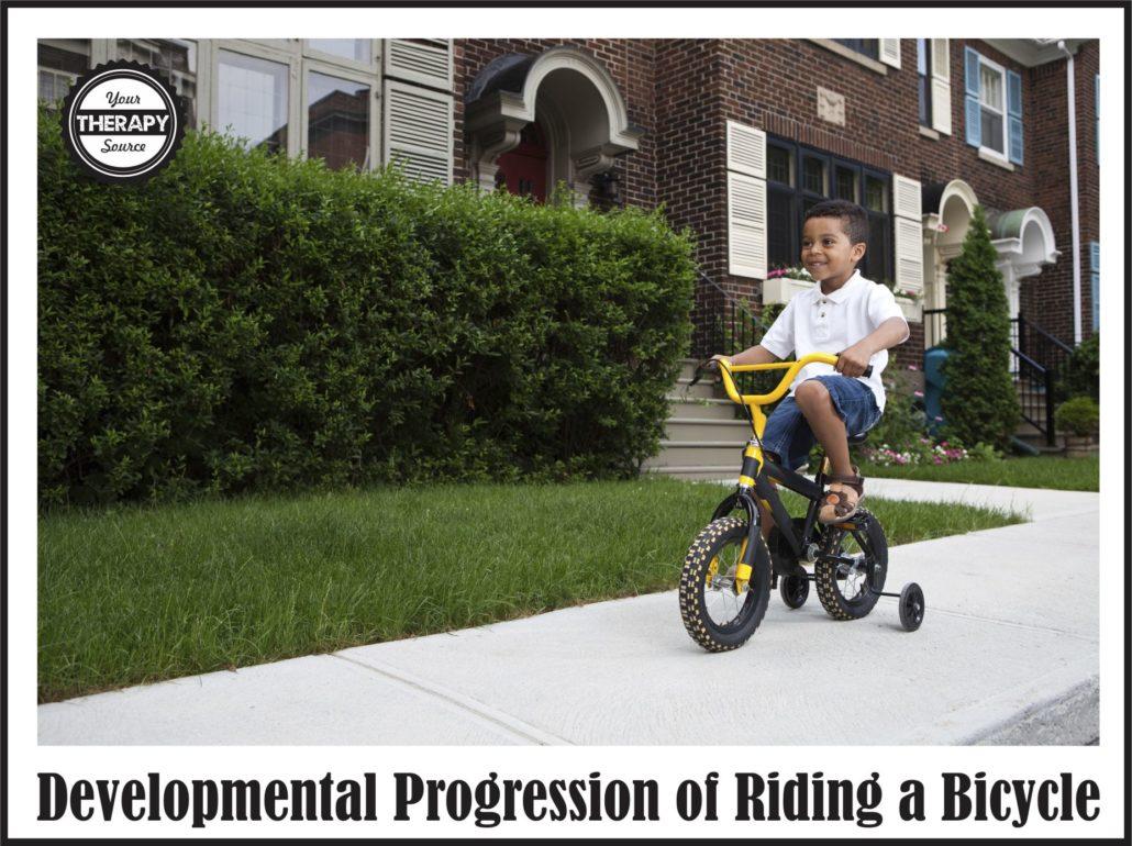 Developmental Progression of Bike Riding