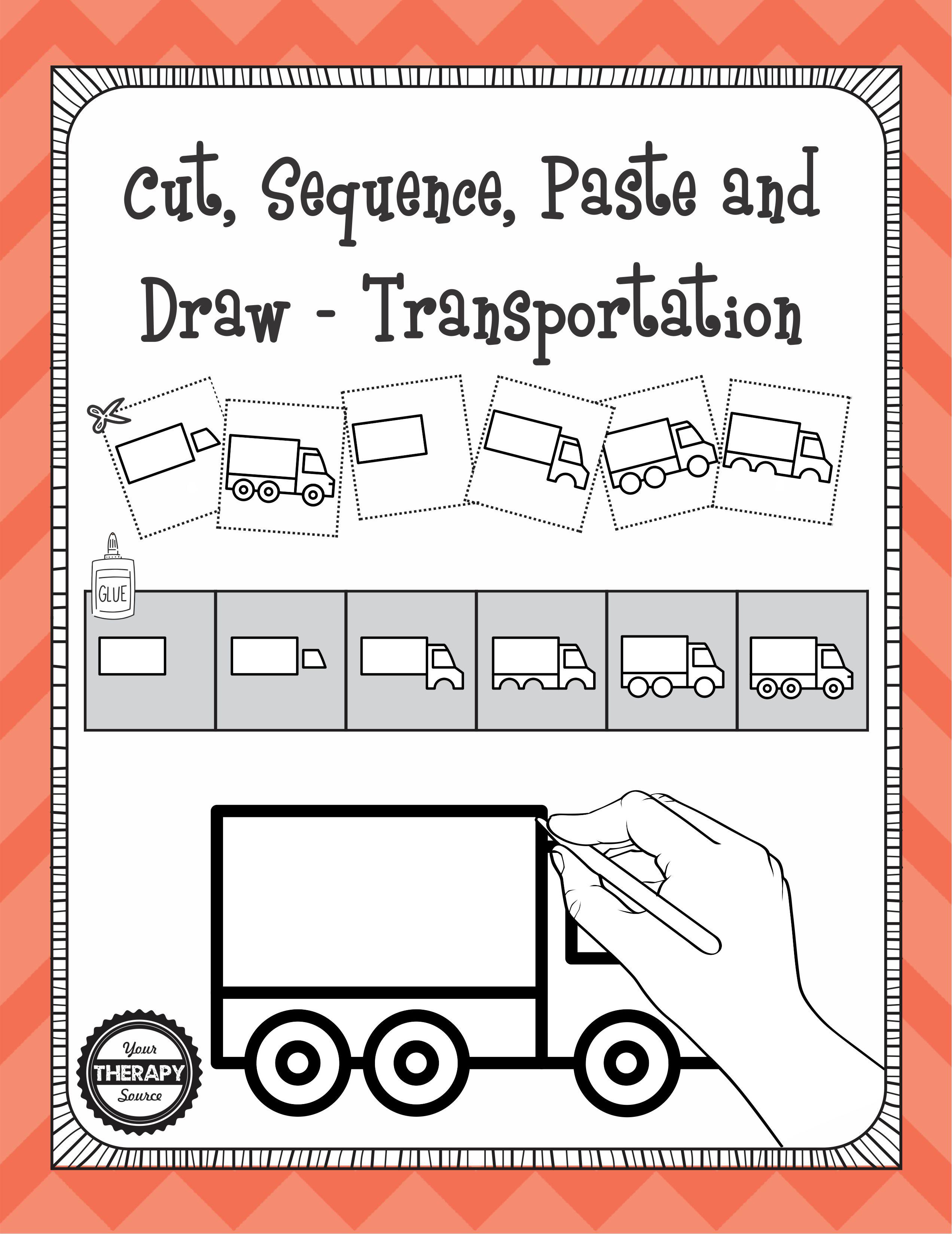 Cut Sequence Paste Transportation