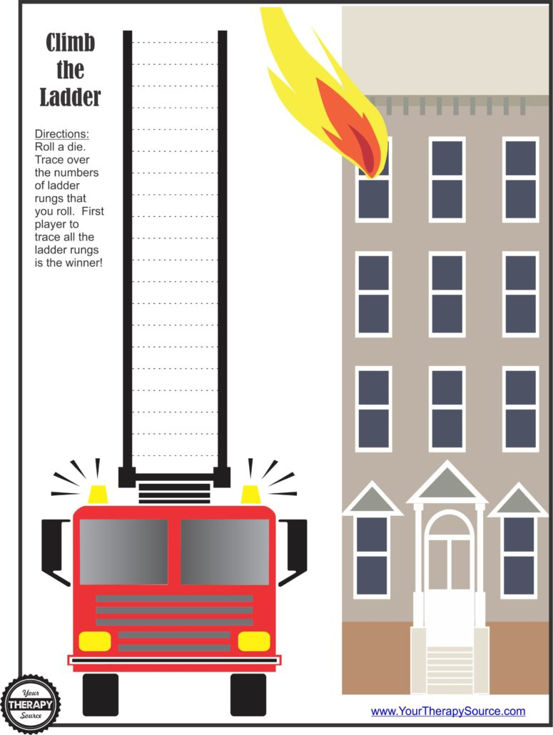Firetruck Ladder Game