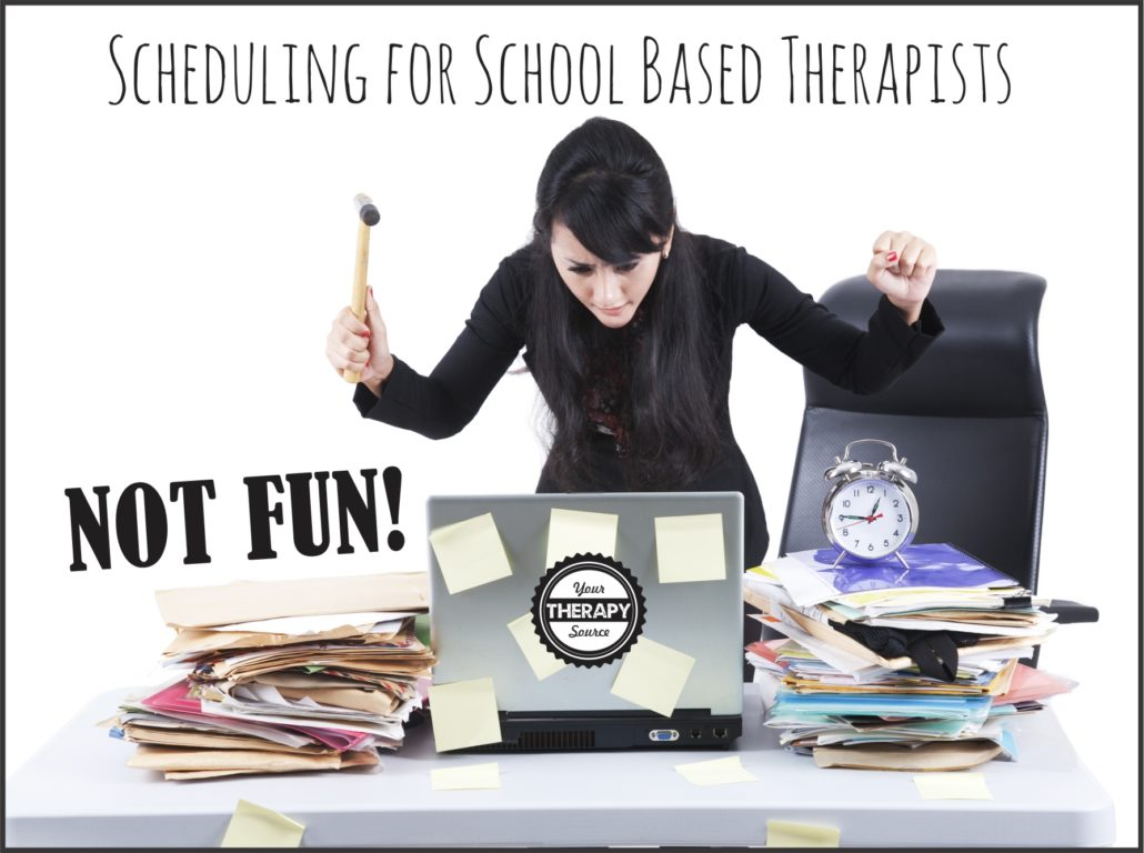 Scheduling for school based therapist