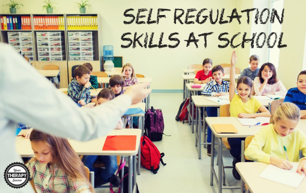 Self Regulation Skills at School
