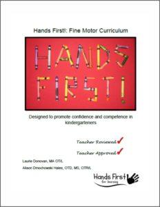 Hands First Fine Motor Curriculum