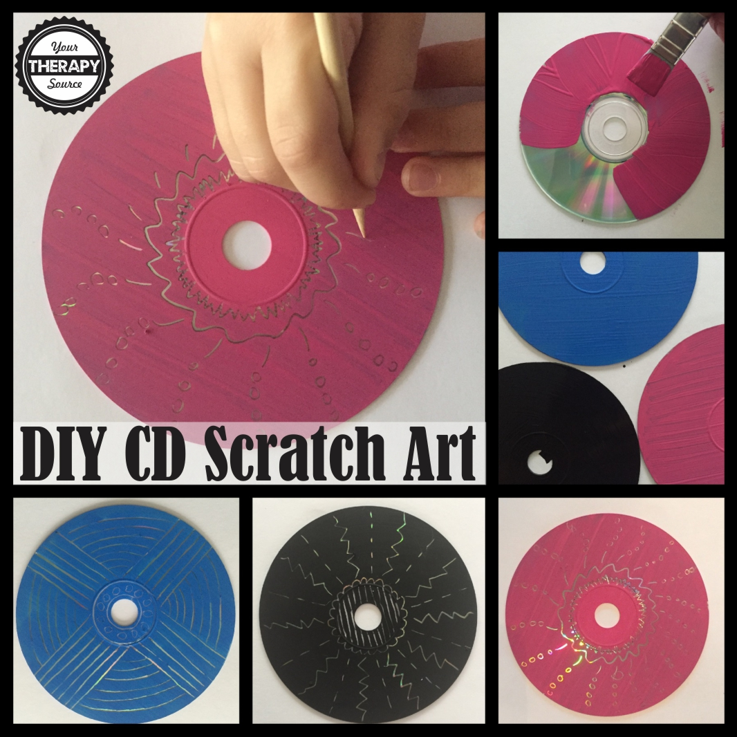 DIY Scratch Art - Your Therapy Source