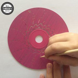 CD Scratch Art 3