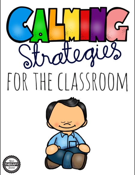 Calming Strategies for the Classroom cover