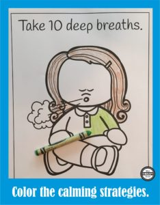 Calming Strategies Suggested Uses Coloring