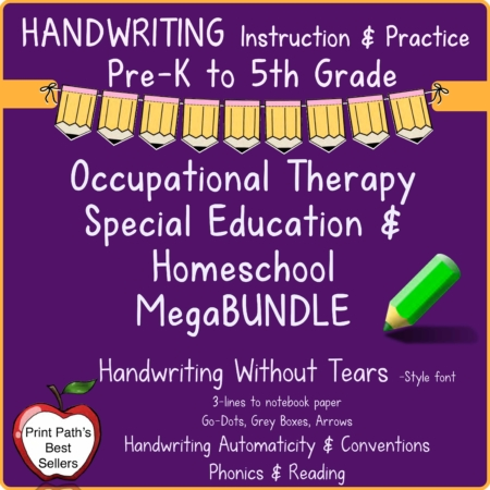 Handwriting  Bundle Your Therapy Source