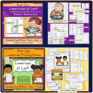 Handwriting Bundle OT SPecial Education YTS
