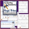 Handwriting Bundle Winger Writers