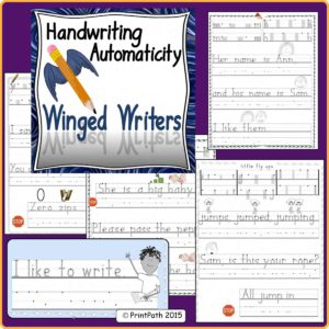Handwriting Bundle Winger Writers