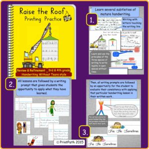 Handwriting Bundle Raise the Roof