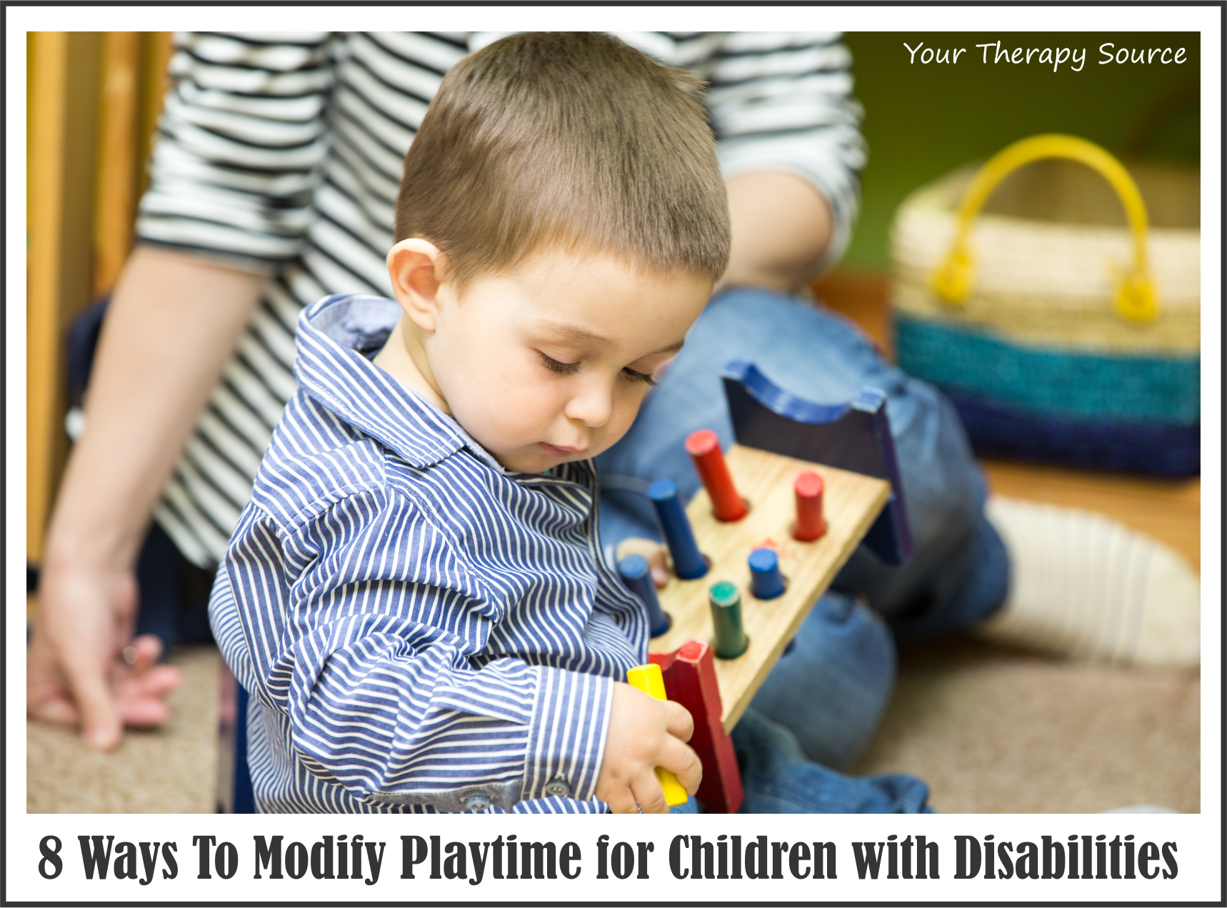 8 Playtime Modifications for Children with Disabilities Your