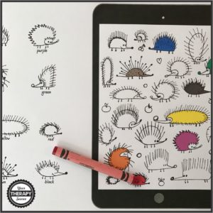visual-discrimation-seek-and-find-hedgehogs