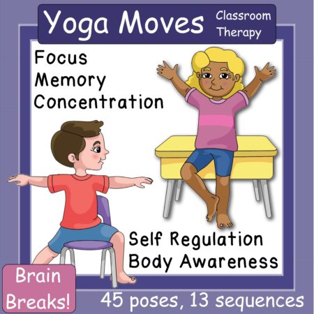yoga moves  visual cue cards  your therapy source