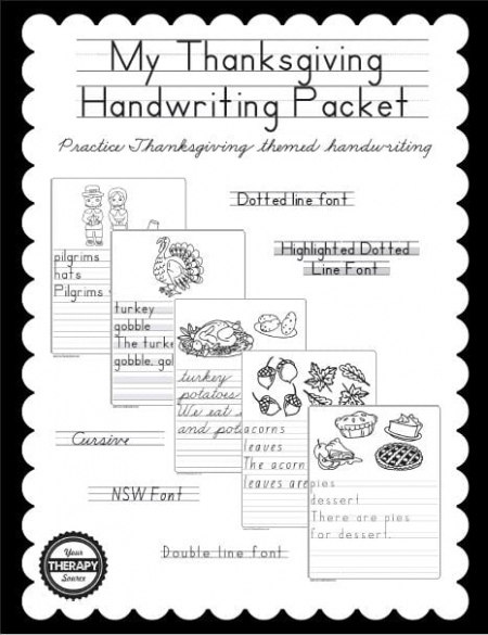 my-thanksgiving-handwriting-book-cover