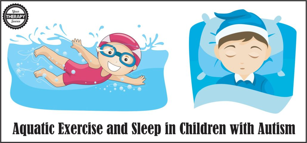 aquatic exercise sleep autism