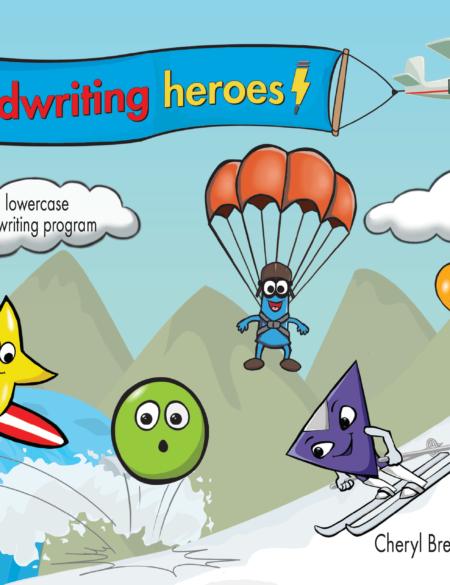 Handwriting Heroes Program Cover YTS