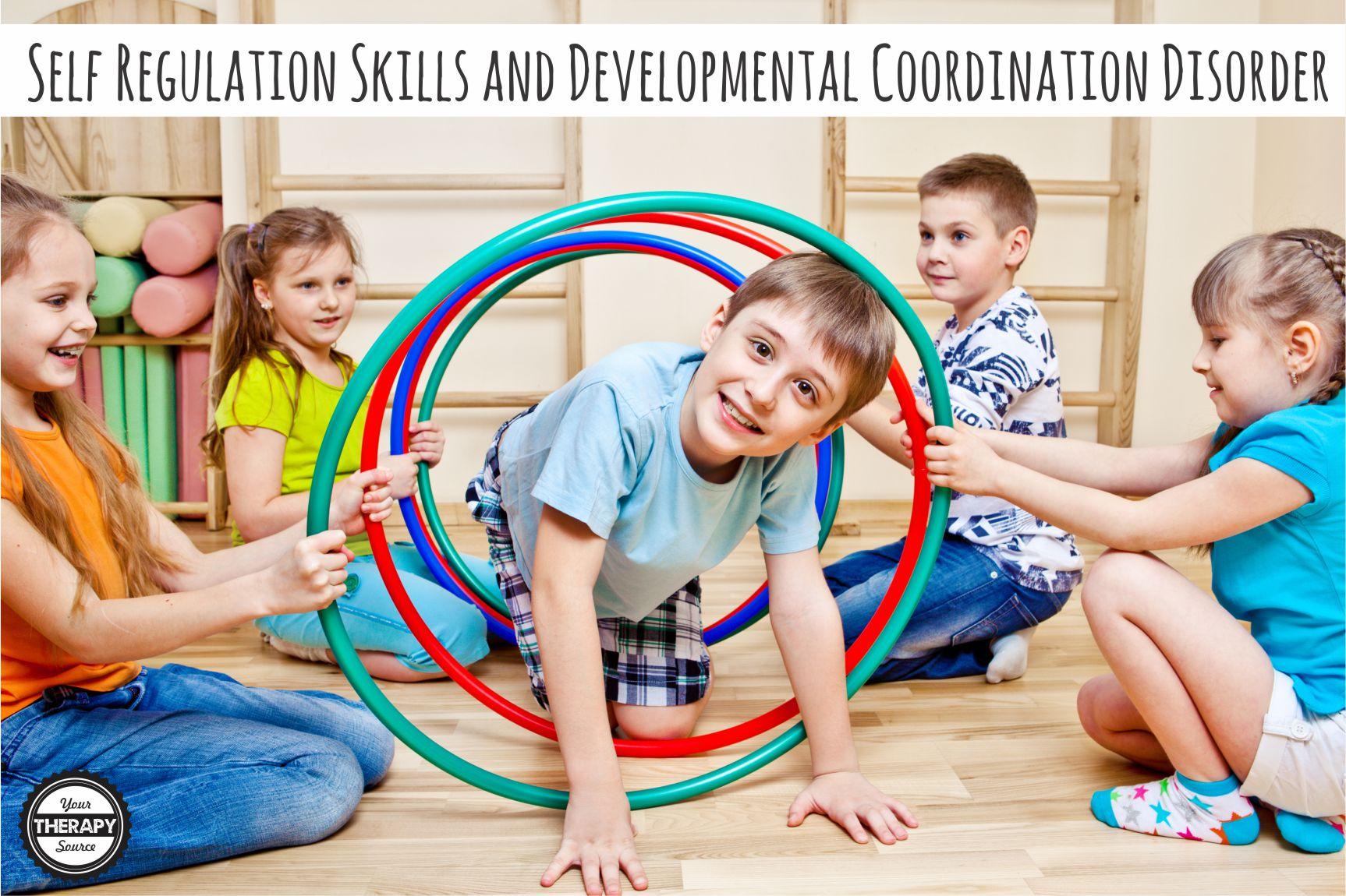 self regulation skills and developmental coordination