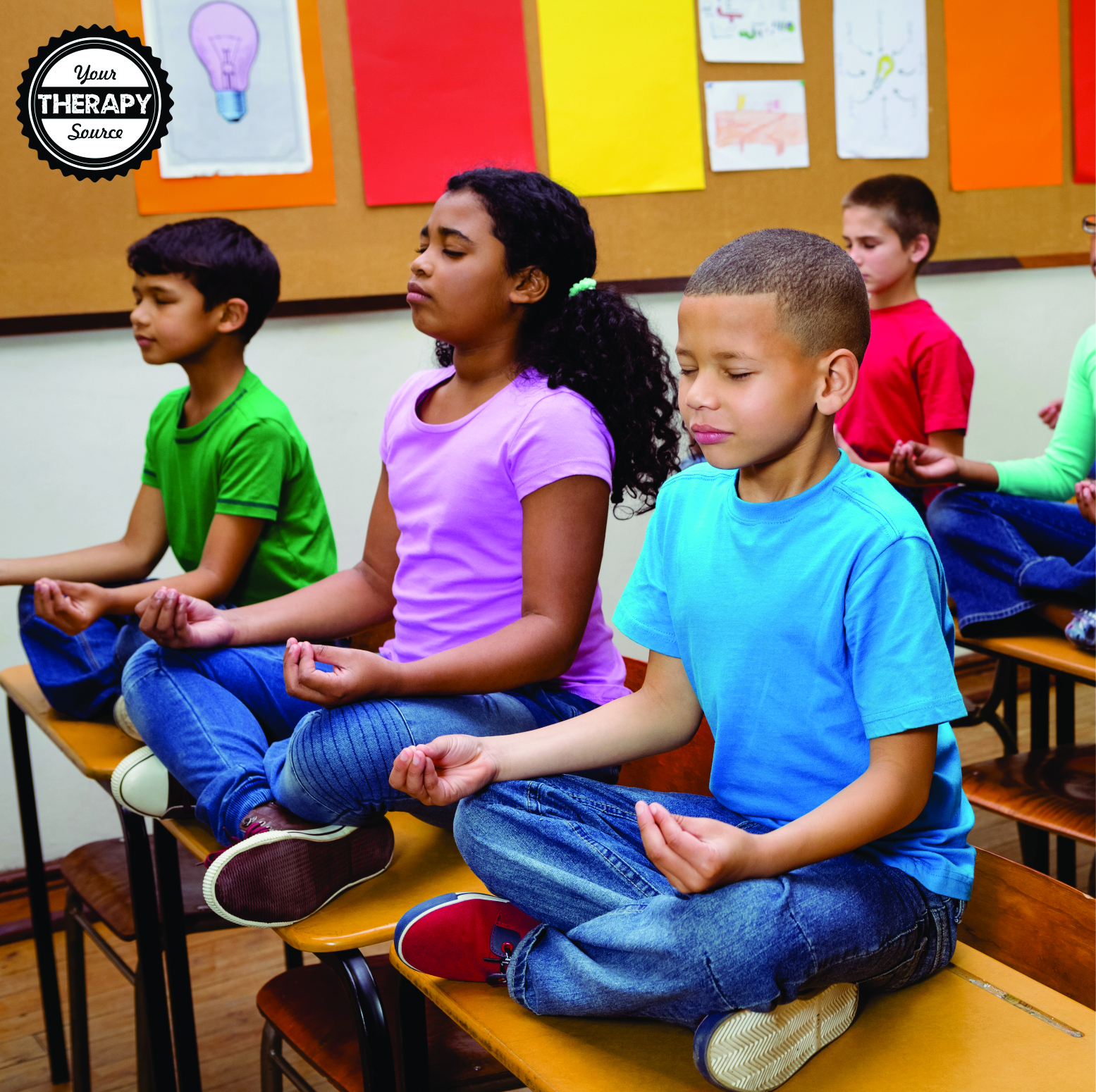 Yoga for ADHD - research indicates that yoga may help promote self-control, attention, body awareness, and stress management.