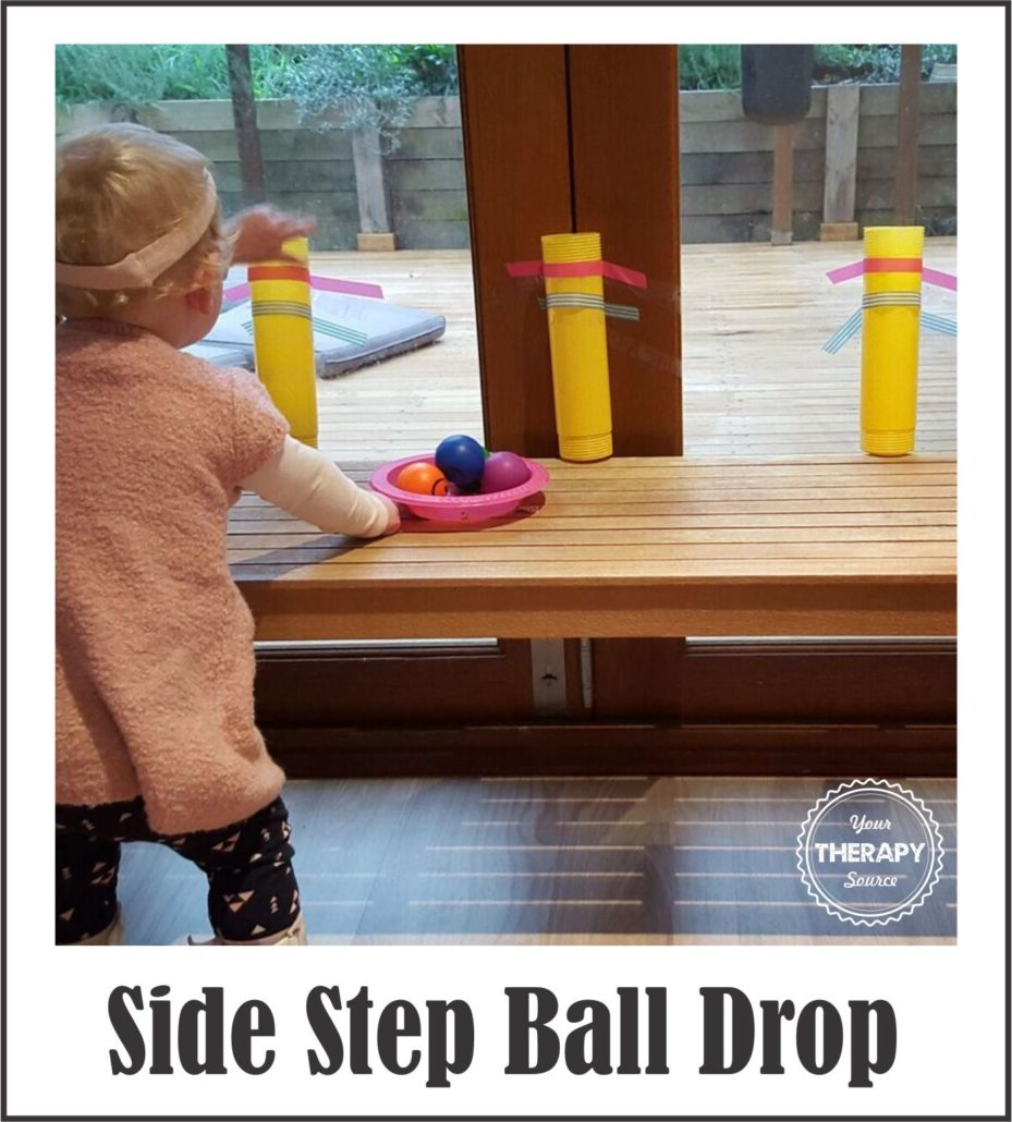 Side Step Ball Drop Photo