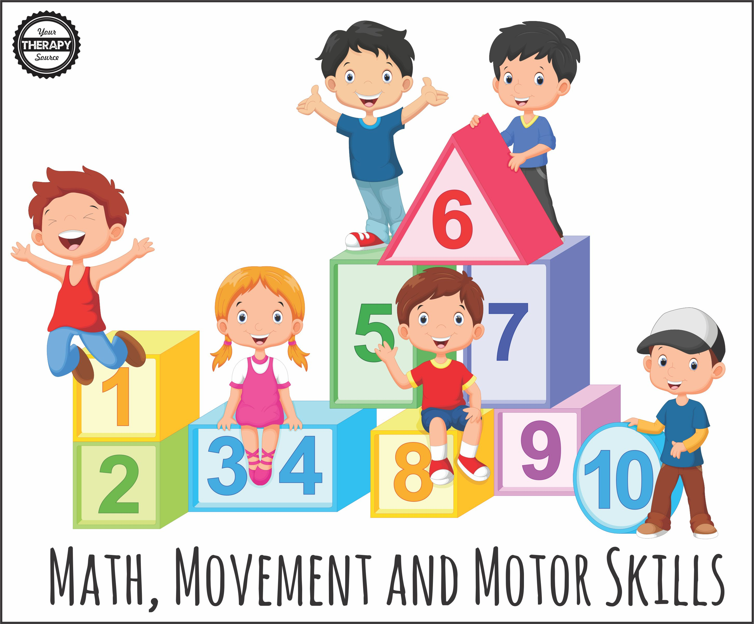 Cartoon physical therapy - Math Movement And Motor Skills