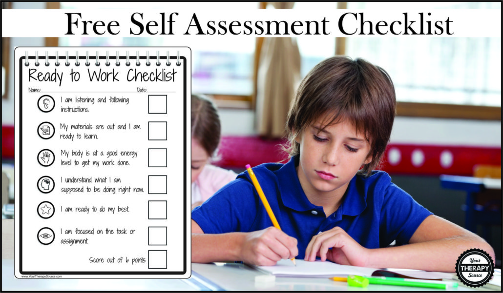 Ready To Work Self Assessment Checklist