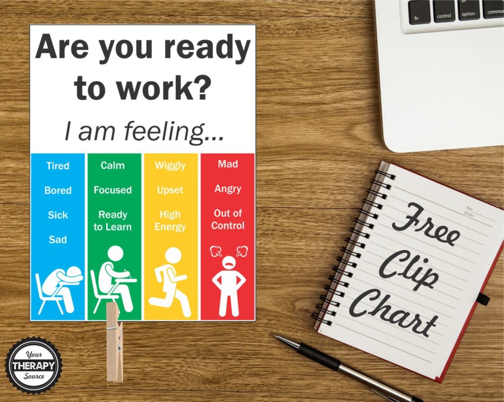 Kinder Garden: Are You Ready To Work Clip Chart Freebie