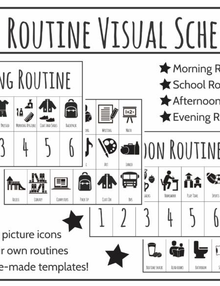 Routine Schedule Folders