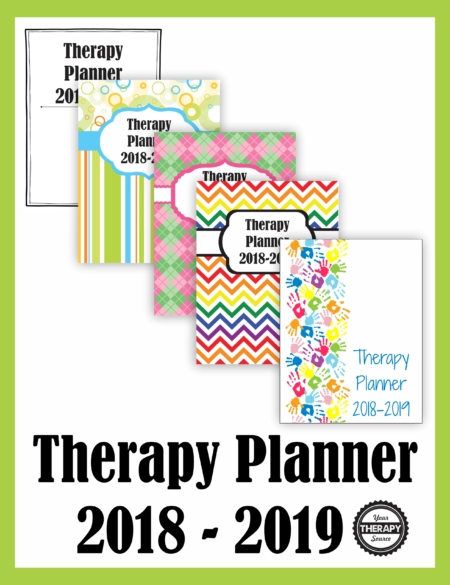 Therapy Planner 2018-2019