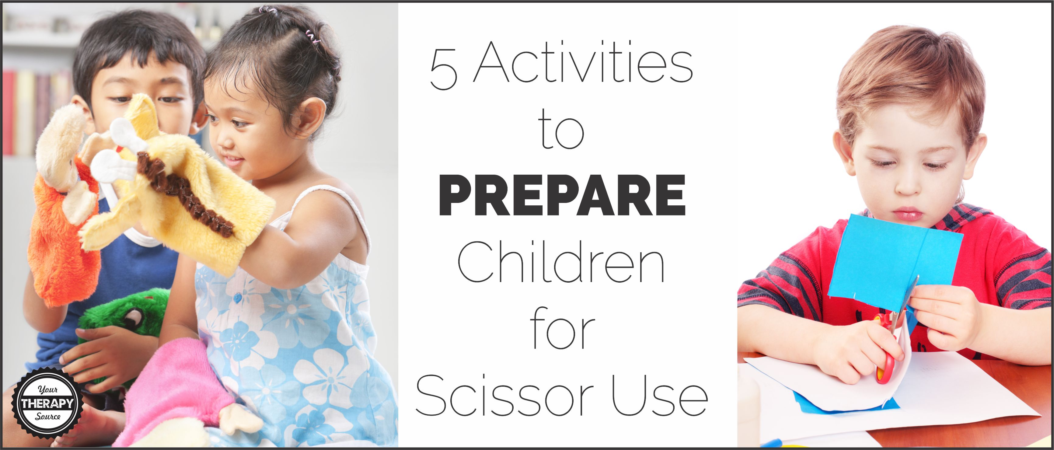 8 fun ideas how to teach a child to use scissors