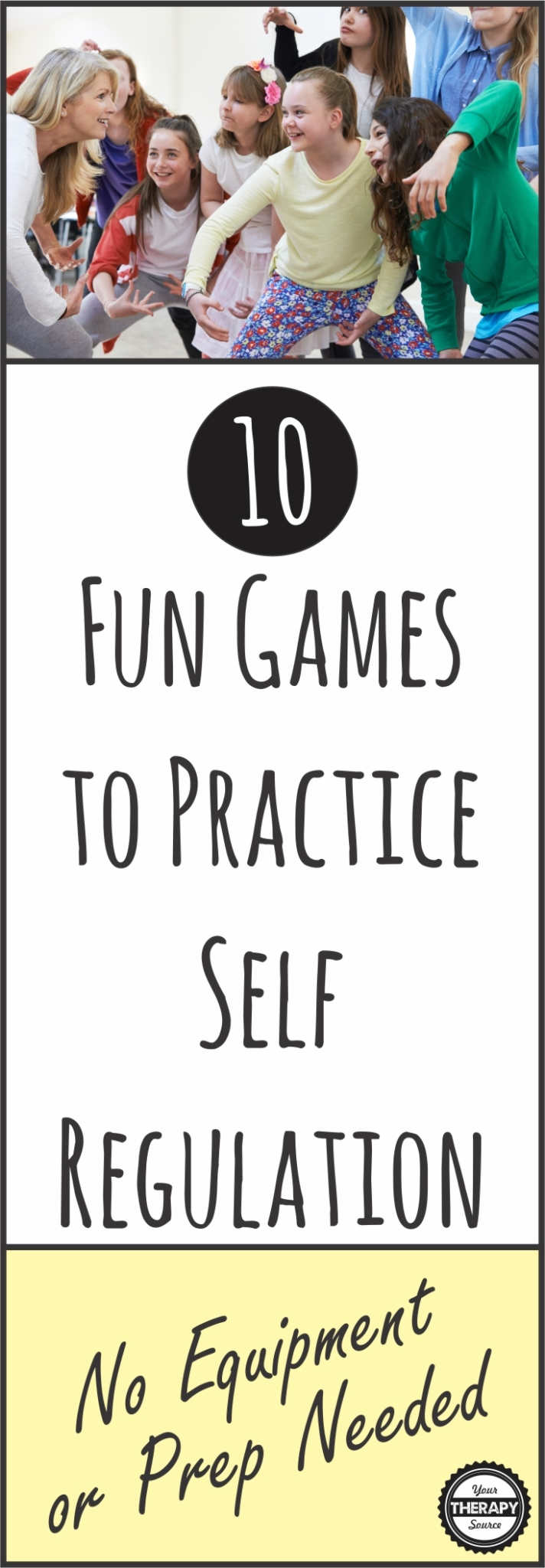 10 FUN self control games to practice self regulation skills in children - the games require no equipment or preparation. They make great brain breaks too!