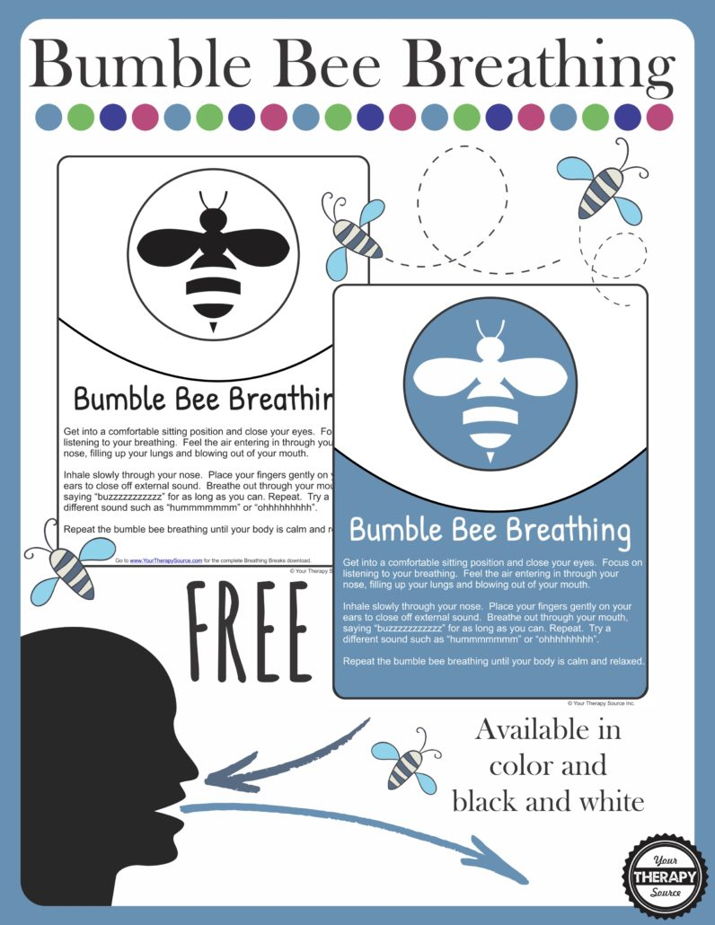 Bumble Bee Breathing Break - Deep Breathing Exercise - Your
