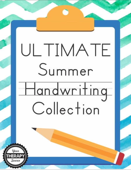 Ultimate Summer Handwriting Collection