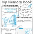 My Memory Book - Handwriting and Drawing Practice