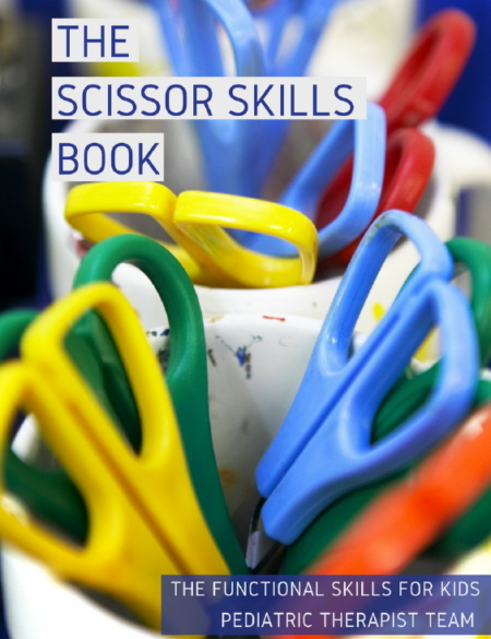 The Scissor Skills Book Your Therapy Source
