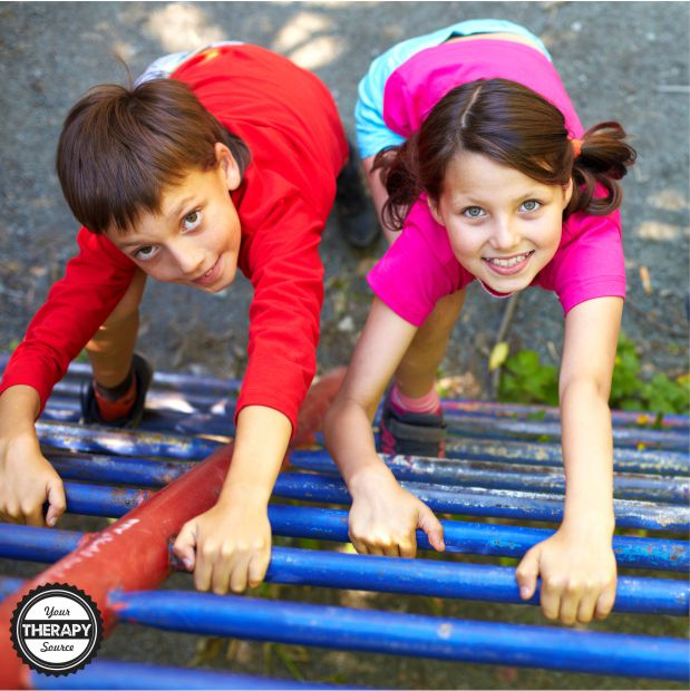 Using video analysis, this playground research took a very close look at the behaviors of children on the equipment.