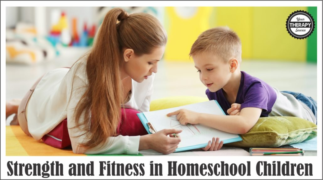 Strength and Fitness in Homeschool Children