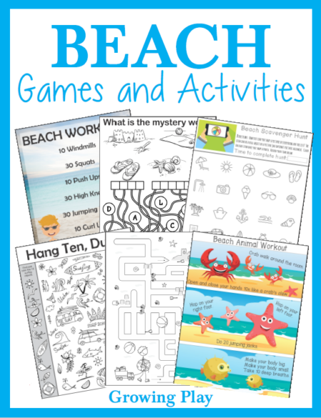 Beach Sensory Motor Packet