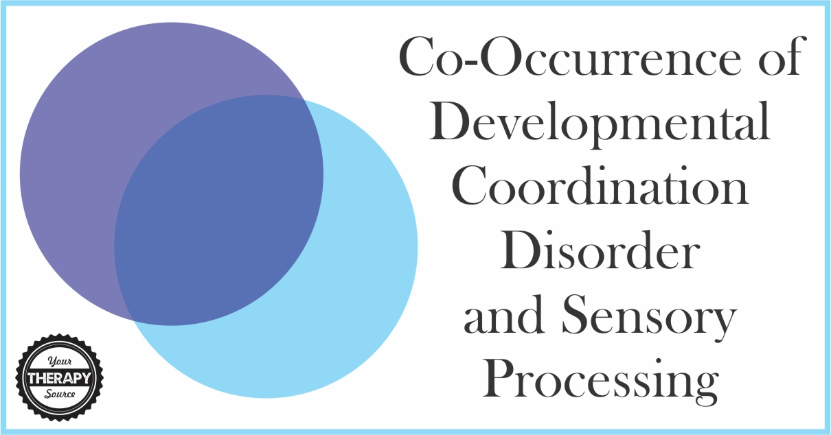 Developmental coordination disorder and sensory processing for Visual motor processing disorder