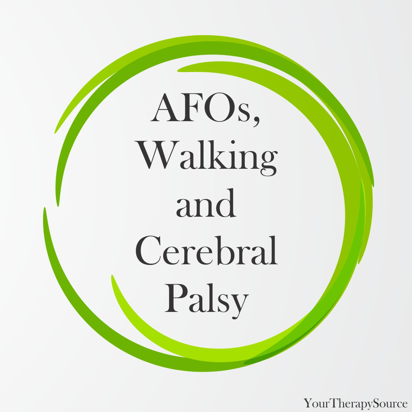 AFOs Walking and Cerebral Palsy