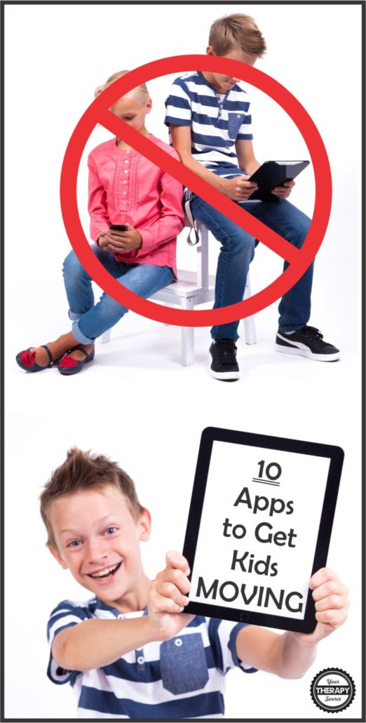 10 Apps to Get Kids Moving