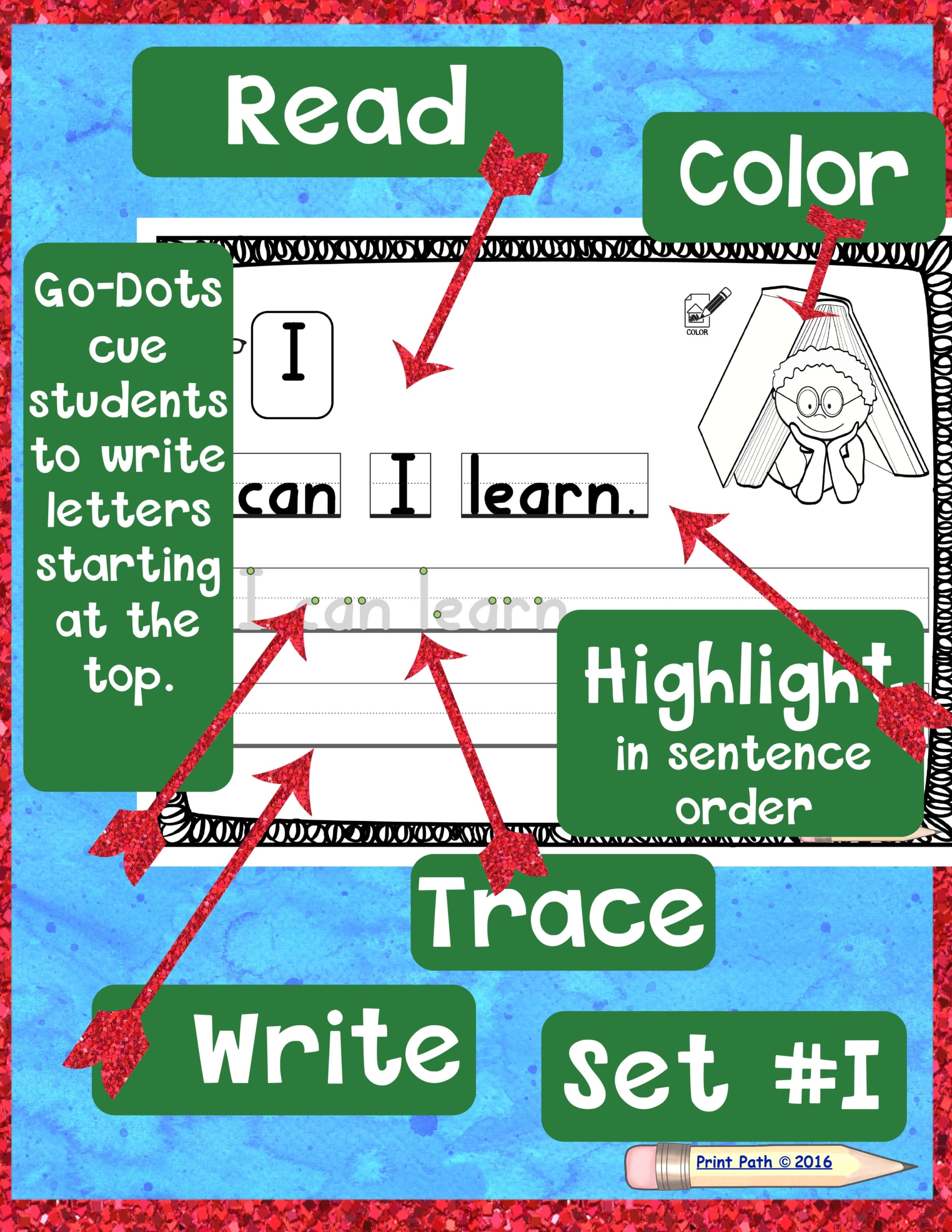 Sight Word Handwriting Practice