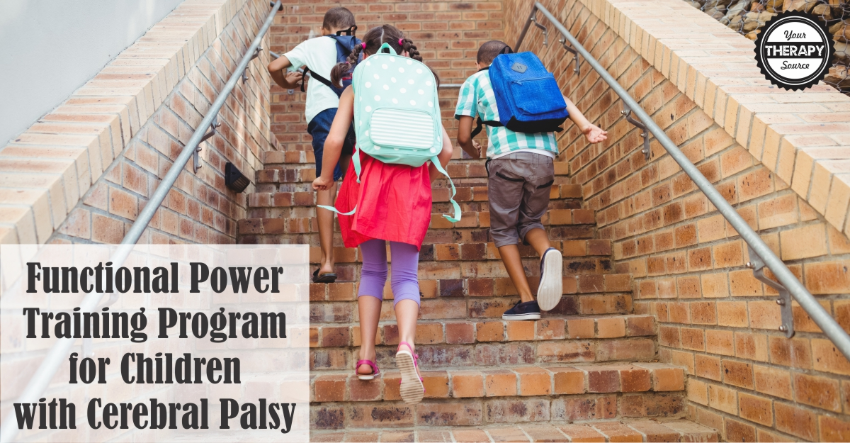 Functional Power Training Program for Children with Cerebral Palsy