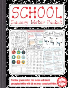 School Sensory Motor Packet