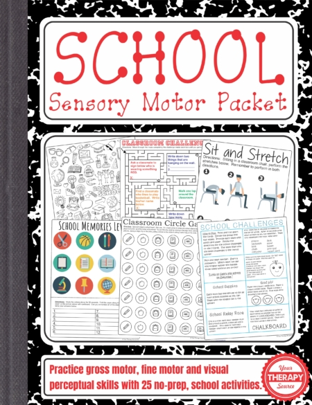 School Sensory Motor Packet